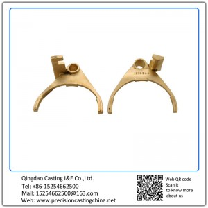 Customized Copper Alloy Clutch Fork Investment Casting