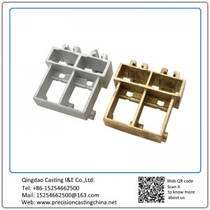 Customized Copper Alloy Cooling Systems Components Waterglass Casting
