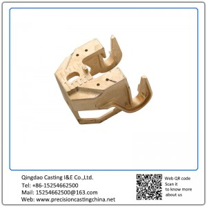 Customized Copper Alloy Precoated Sand Casting Automobile Suspension Spare Parts