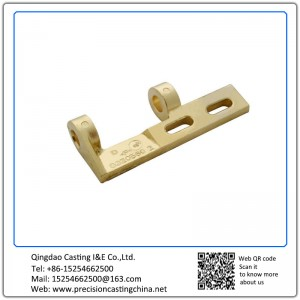 Customized Copper Alloy Railway Fittings Precision Casting