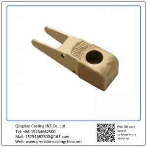 Customized Copper Alloy Railway Fittings Precoated Sand Casting