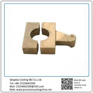 Customized Copper Alloy Railway Fittings Silica Sol Lost Wax Investment Casting