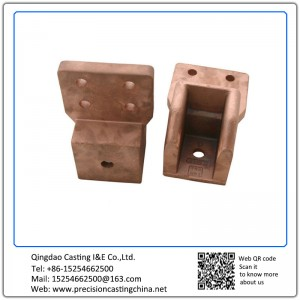 Customized Copper Alloy Railway Fittings Solid Investment Casting