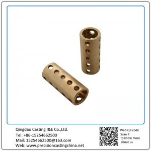 Customized Copper Alloy Railway Fittings Soluble Glass Casting