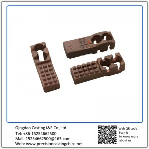 Customized Copper Alloy Railway Fittings Waterglass Casting