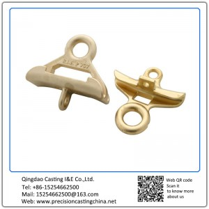 Customized Copper Alloy Shell Mould Casting Machine Parts