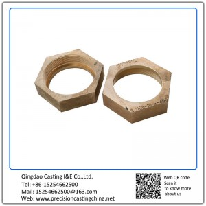 Customized Copper Casting Screws Solid Investment Casting