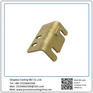 Customized Copper Solid Investment Casting Forklift Component