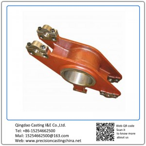 Customized Crag Balance of High Speed Train Solid Investment Casting Cast Nodular Iron
