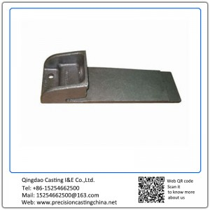Customized Cushion of Railway Precoated Sand Casting Malleable Iron