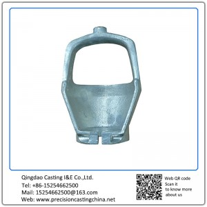 Customized Cylinder Cap (A) Cast Nodular Iron Shell Mould Casting Engineering Machinery Parts