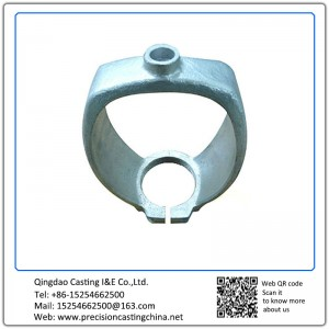 Customized Cylinder Cap (C) Malleable Iron Silica Sol Lost Wax Investment Casting