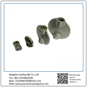 Customized Ductile Iron Butterfly Valve Discs Investment Casting
