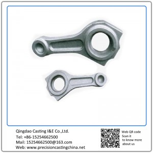 Customized Ductile Iron Connecting Rod Shell Mould Casting Gasoline Engine Spare Parts