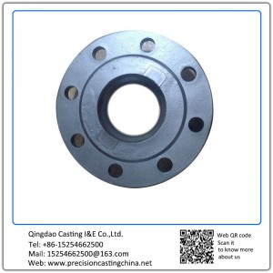 Customized Ductile Iron Solid Investment Casting Connect Flange