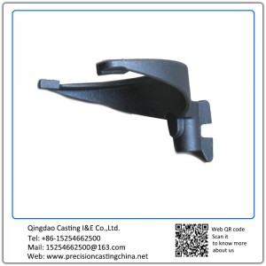 Customized Ductile Iron Train Hook Precision Casting
