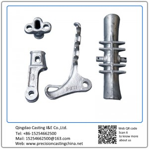 Customized Electric Power Fittings Material Malleable Iron