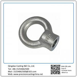 Customized Eye Bolt Investment Casting Mild Steel