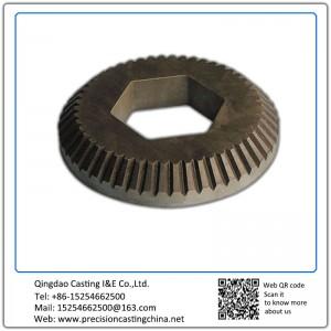 Customized Feeding Machine gear wheels lost wax casting Alloy Steel