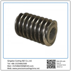 Customized Feeding Machine thread gear investment casting Alloy Steel