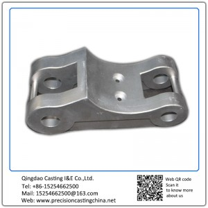 Customized Galvanized Alloy Steel Automobile Suspension Spare Parts Investment Casting