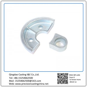 Customized Galvanized Architectural Hardware with Top Quality Soluble Glass Casting Nodular Iron