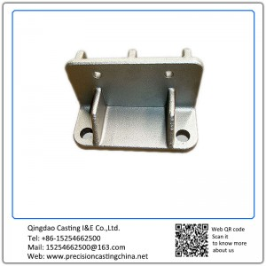 Customized Galvanized Cast Nodular Iron Shell Mould Casting Automobile Support Bracket