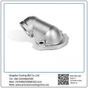 Customized Galvanized Shell Mould Casting Pipe Elbow Nodular Iron