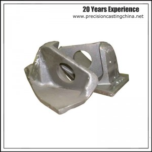 Carbon Steel Clay Sand Casting Mounting Basement