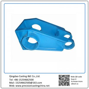 Customized Hanger of Suspension Resin Sand Casting Carbon Steel Automotive Support Bracket