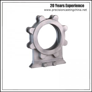 Carbon Steel Knife Gate Valve Shell Clay Sand Casting