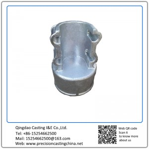 Customized High Chromium Cast Iron Crane Spare Parts Solid Investment Casting