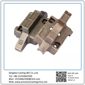 Customized High Manganese Steel Automotive Support Frame Shell Mould Casting