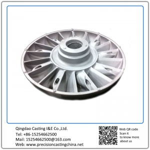 Customized Impeller Alloy Steel General Industrial Equipment Components Investment Casting