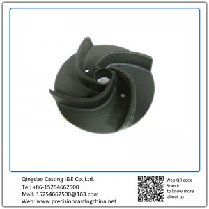 Customized Impeller Casting Parts Spherical Cast Iron