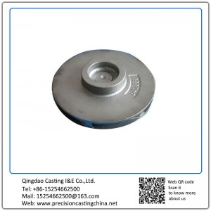 Customized Impeller Ductile Iron Precoated Sand Casting Train Parts