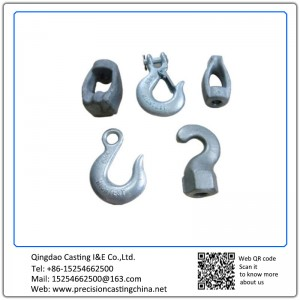 Customized Investment Cast Adjustable Part Alloy Steel Hooks