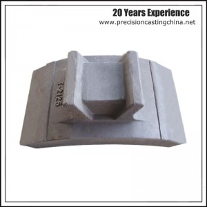 Carbon Steel PRESSING STRIP  crusher spare parts Resin Sand Casting