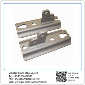 Customized Investment Casting Automotive Support Bracket Carbon Steel
