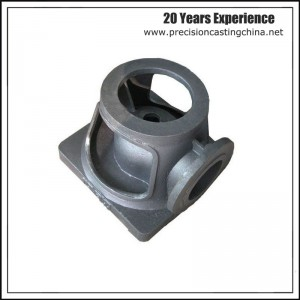 Cast Nodular Iron Resin Sand Casting Railway Train Parts Cooling Systems Components