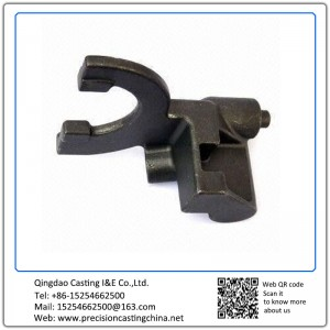 Customized Investment Casting with Shift Fork Automobile Transmission Parts Made of S45C