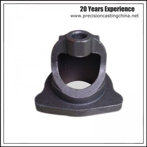 Cast Nodular Iron Silica Sol Lost Wax Investment Casting Automotive Support Frame