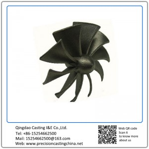 Customized Iron Sand Casting Impeller for Water Pump