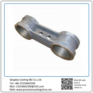Customized Lever of High Speed Train Precision Casting Alloy Steel Cylinder Spare Part