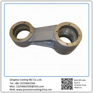 Customized Lever of High Speed Train Shell Mould Casting Ductile Iron Suspension Spare Parts
