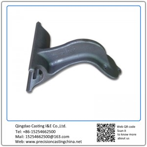 Customized Malleable Iron Camion Heavy Trucks Casting Parts Lost Foam Casting Process Automotive Support Bracket