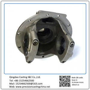 Customized Malleable Iron Precision Casting Automotive Support Bracket