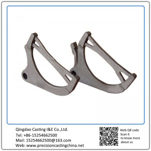 Customized Malleable Iron Soluble Glass Casting General Mechanical Parts