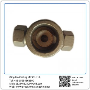 Customized Malleable Iron Soluble Glass Casting Valve Shells