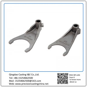 Customized Mild Steel Automobile Clutch Fork Shell Mould Casting